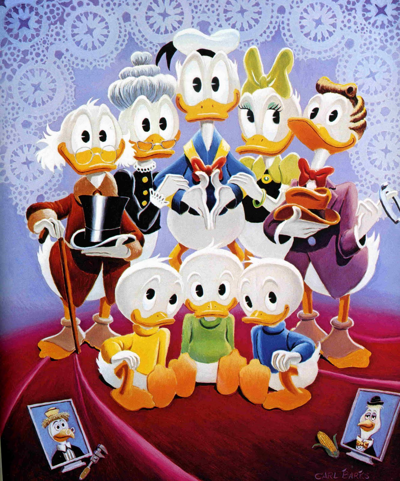 Donald Duck Family Pics By Cool Images786