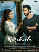Zaheer Iqbal and Pranutan Bahl upcoming 2019 Bollywood film Notebook Wiki, Poster, Release date, Songs list wikipedia