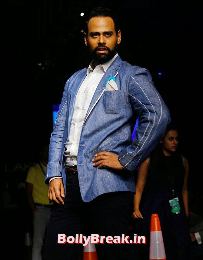 VJ Andy, Lakme Fashion Week 2014 Finale Pics