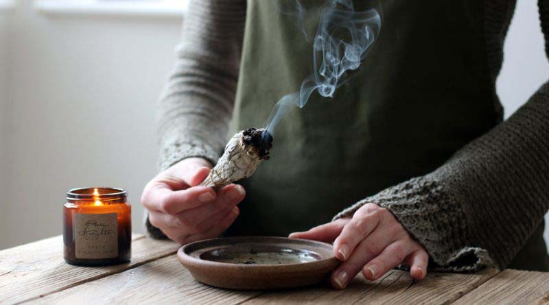 Smudge your entire home with sage.