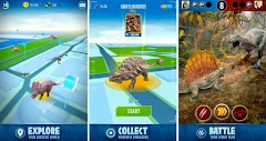Jurassic World™ Alive Game Reality Mirip PokemonGO Apk Data
