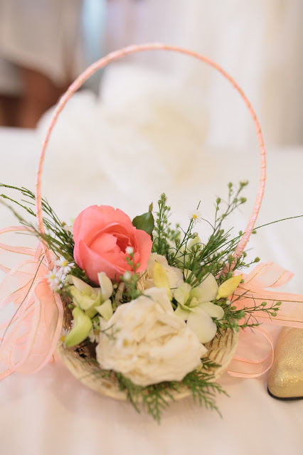 affordable wedding package cebu - flower girl bouquet