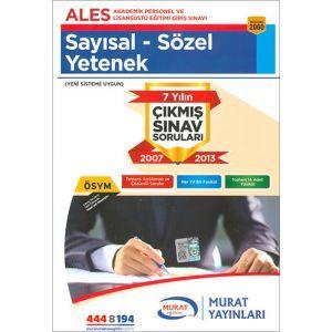 Murat ALES Çıkmış Sınav Soruları Sayısal - Sözel Yetenek 2060