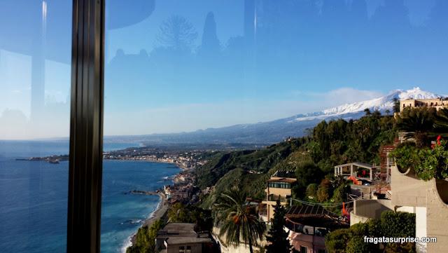 Taormina, Sicília, Hotel Monte Tauro