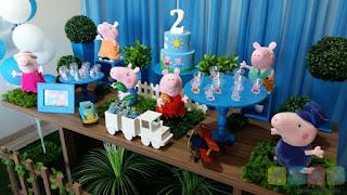 Decoração festa infantil George Pig