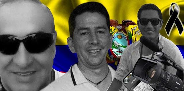 Colombia confirma que cuerpos hallados son de periodistas ecuatorianos secuestrados por FARC