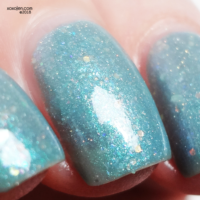 xoxoJen's swatch of Leesha's Lacquer: Bunny Loaf