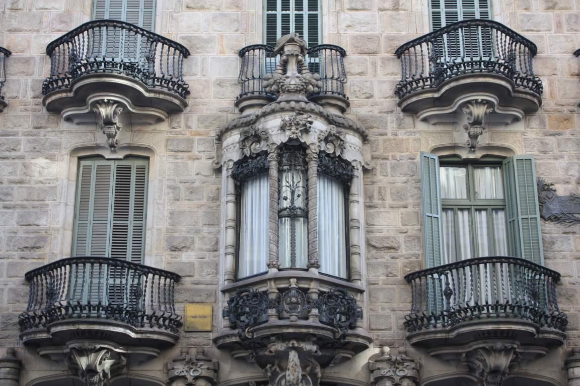 Barcelona Gaudi Casa Calvet Beautiful Places Of