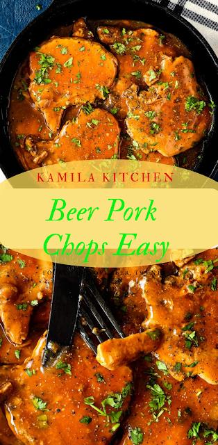 Beer Pork Chops Recipe Easy