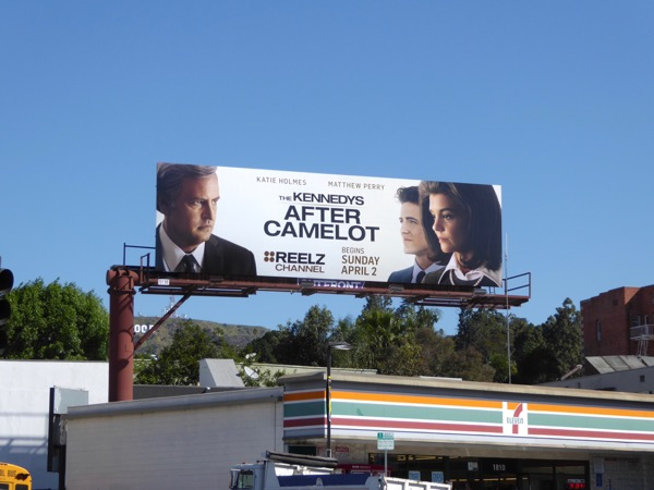 Kennedys After Camelot billboard