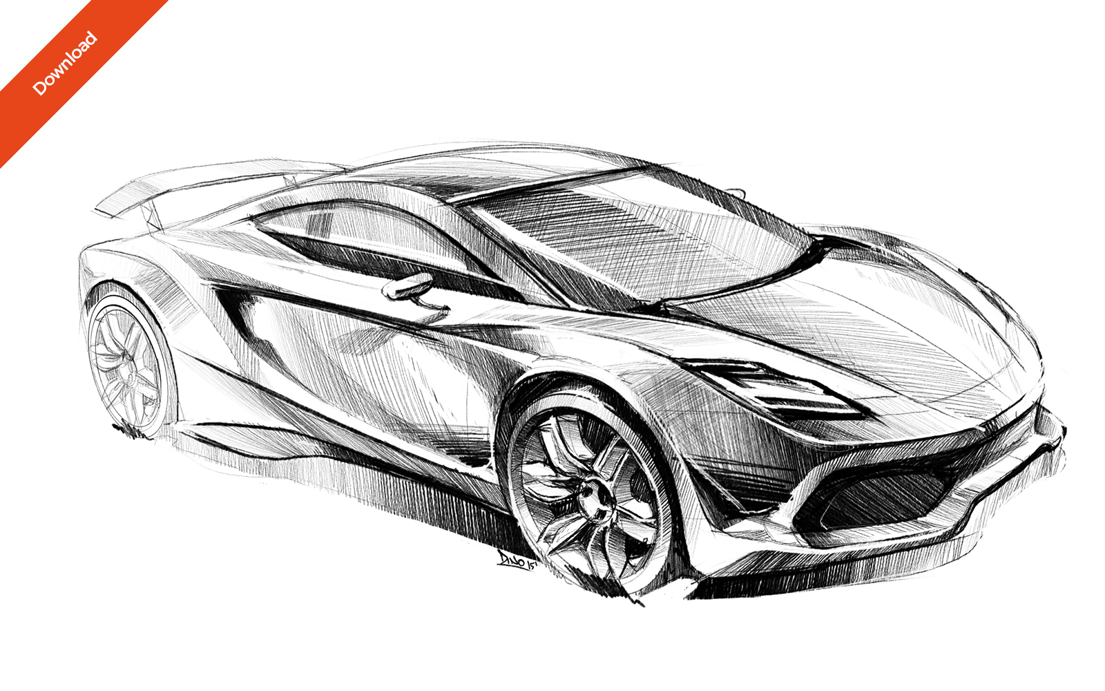 1 car sketch arrinera hussarya concept