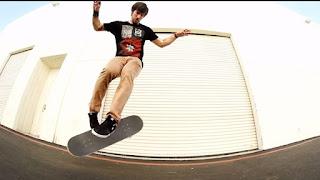 Flip Trick Skateboarding