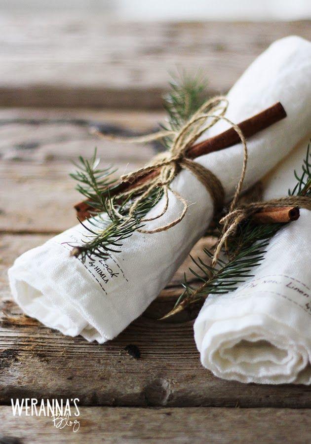 6 Sposobów Na Stylowe świąteczne Dekoracje Na Stół W Stylu