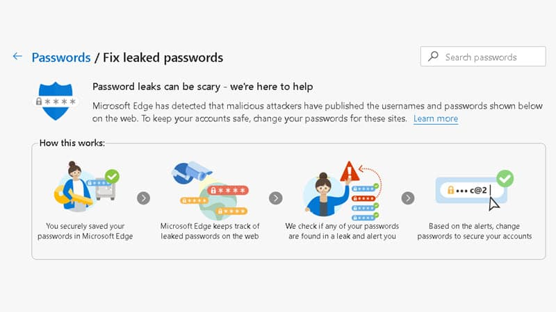 Microsoft Edge will now let you know if your password has been compromised