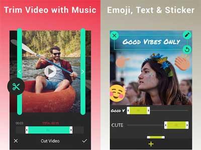 Video Editor Music,Cut,No Crop