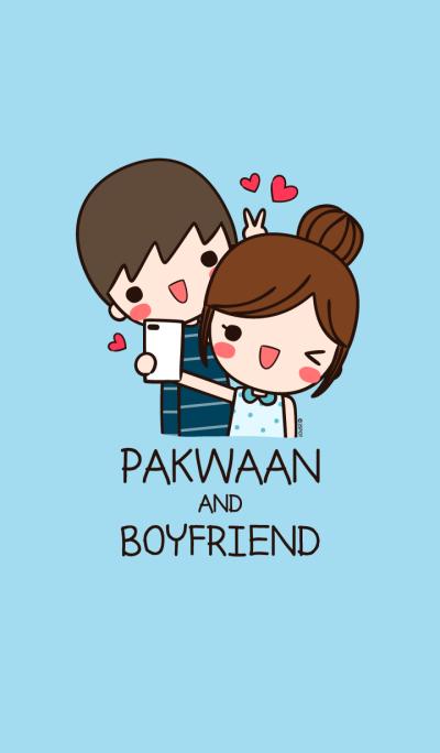 PAKWAAN & BOYFRIEND (Sweet Blue)