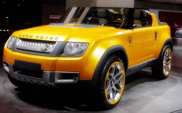 2017 Land Rover DC100 Sport Concept