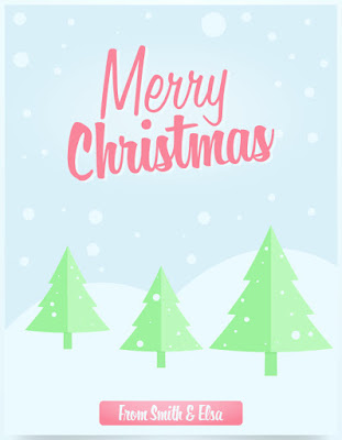 Christmas Flyer Tutorial