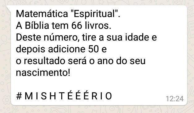 Matemática Espiritual