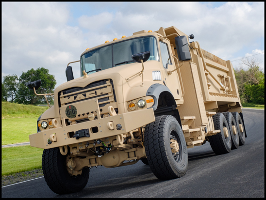Mack Defense M9173A Heavy Dump Truck (HDT)