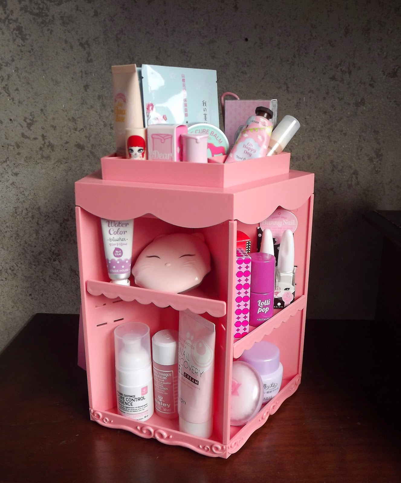 Completely new Etude House Princess Make-up table review and instructions  UI83