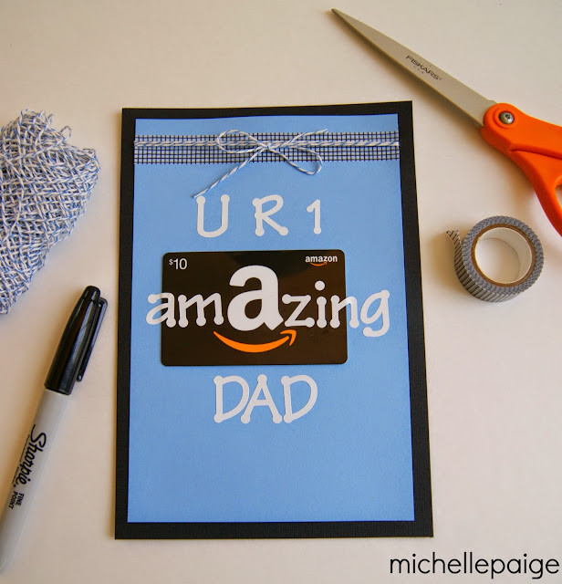 Amazon Gift Cards for Dads