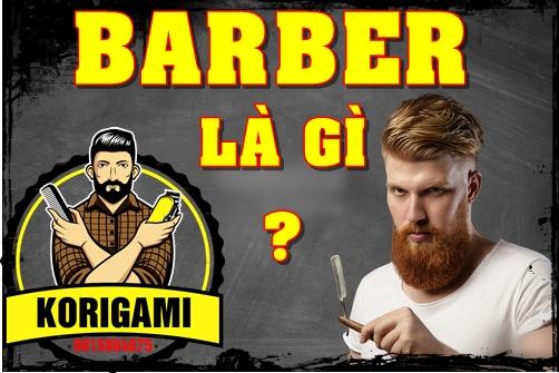 Học cắt tóc nam Barber thực hành trên tóc người mẫu thật