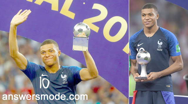 RE: Who has won the World Cup Football 2018  Best Young Player?