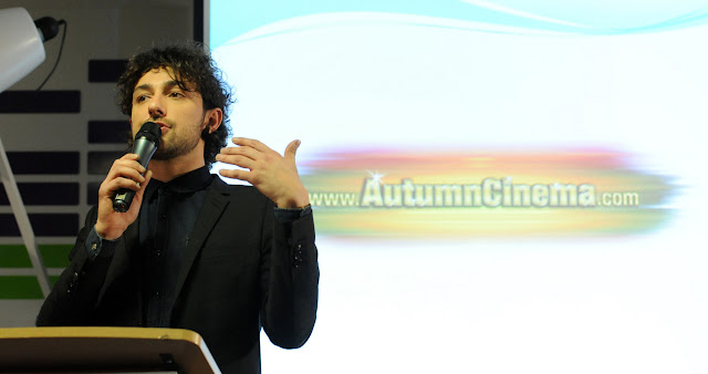 Alex Zane Launches the FDA & Movie Preview Network's Autumn Line-Up in UK Cinemas at Yahoo in London UK