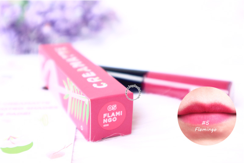 Emina Creamatte Lip Cream Flamingo