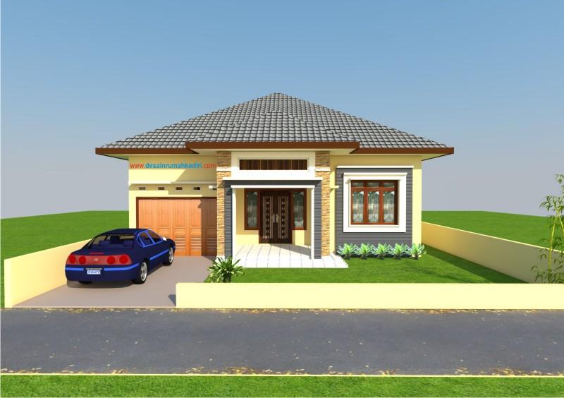 Aplikasi Desain Rumah Minimalis Gratis  lt1 03 rumah minimalis 1 lantai prambon nganjuk jasa