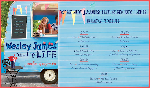 Wesley James Ruined My Life Blog Tour Schedule