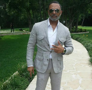 Hot and fashionable older man Irvin Randle