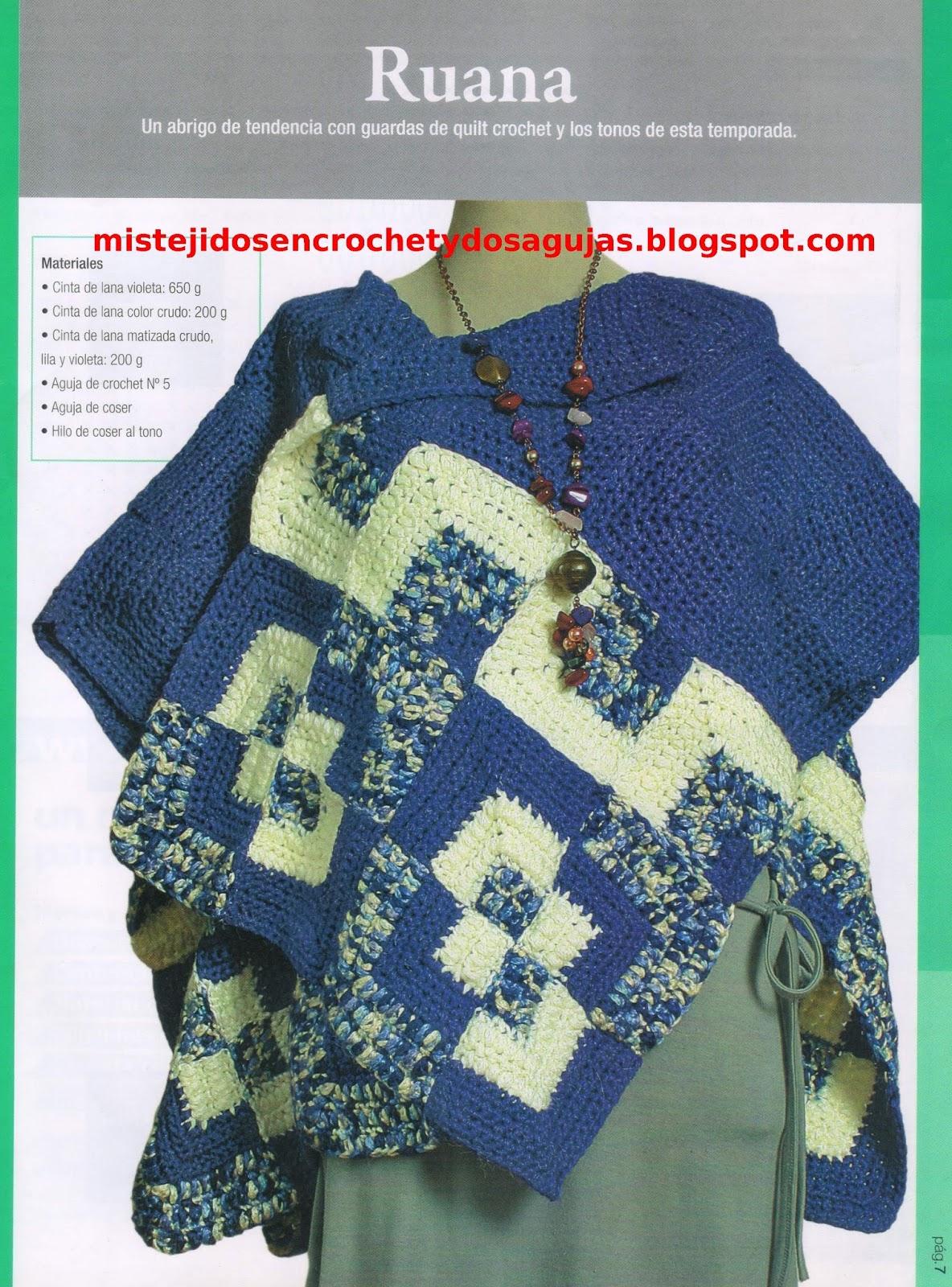 Abrigos de lana tejidos a dos agujas