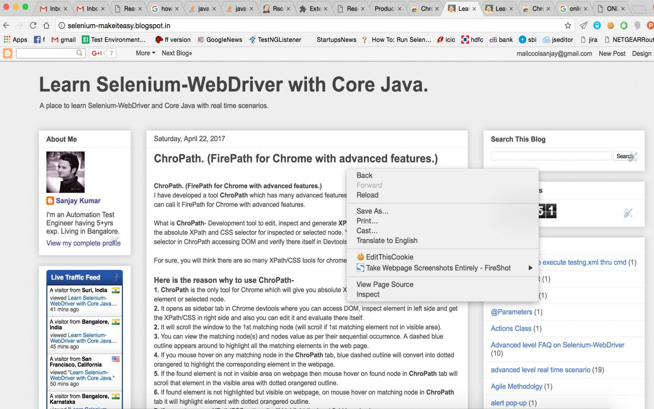 Selenium tutorial pdf images any tutorial examples learn selenium webdriver with core java if you have any feedback or need any feature improvement baditri Gallery