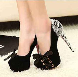 Model Sepatu High Heels Wanita Murah Elegan 2016