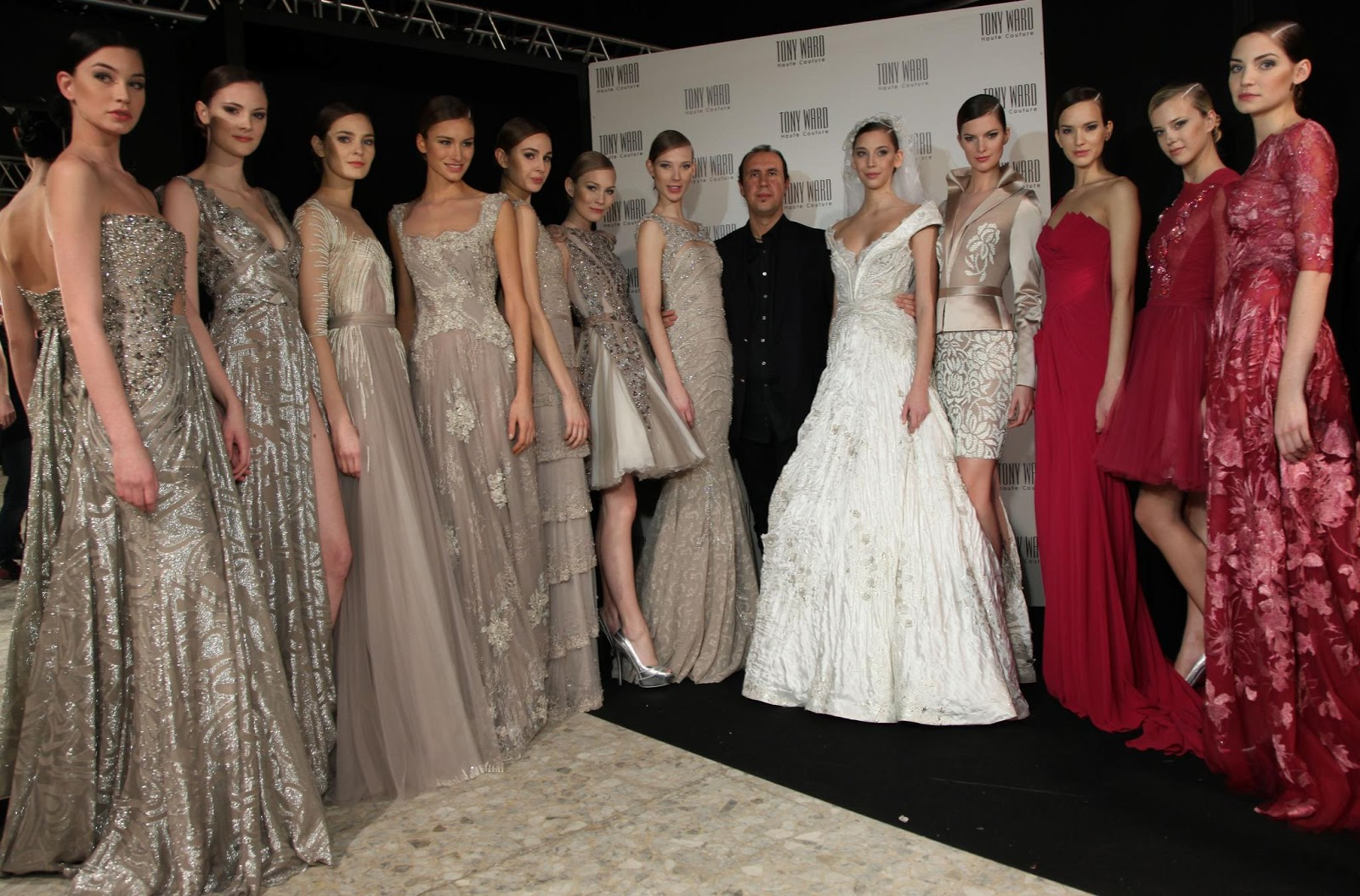 Fashionista S Official Blog Lebanese Fashion Designer Tony Ward