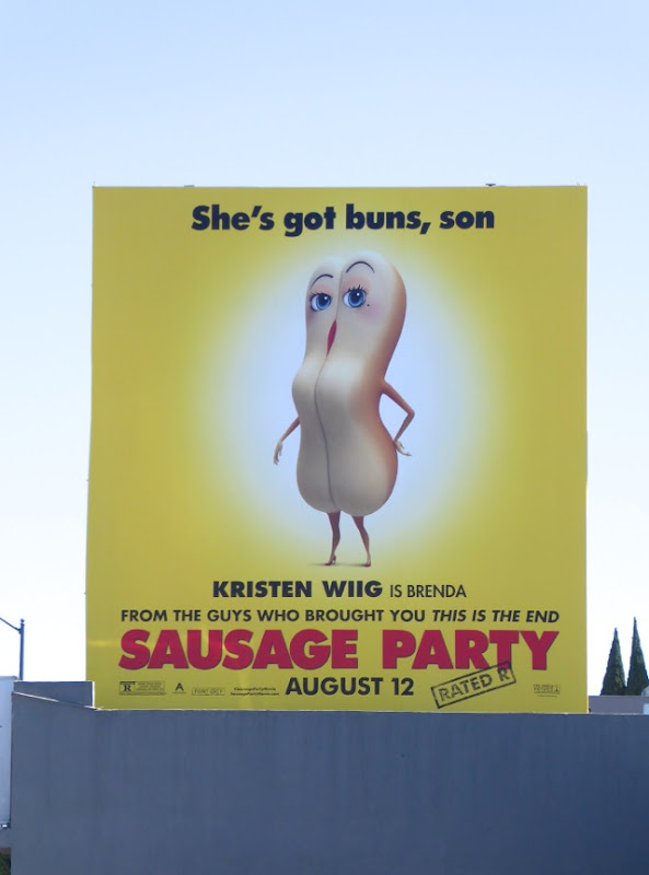 Sausage Party She's got buns Son billboard