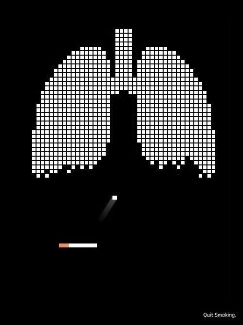 contoh desain gambar poster anti merokok kesehatan kampanye bagus keren efektif menarik headline judul iklan layanan masyarakat public service advertisement psa ilm arti makna simbol lambang tagline copywriting