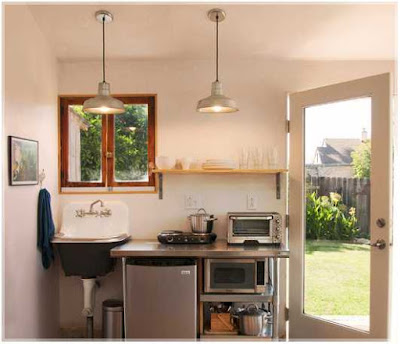 contoh dapur sederhana yang modern