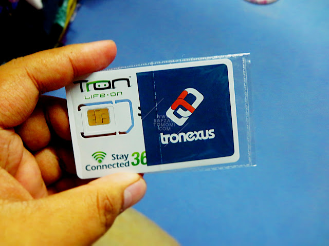 Tronexus - Guna Simcard Tronexus, Boleh Menang Cabutan Bertuah
