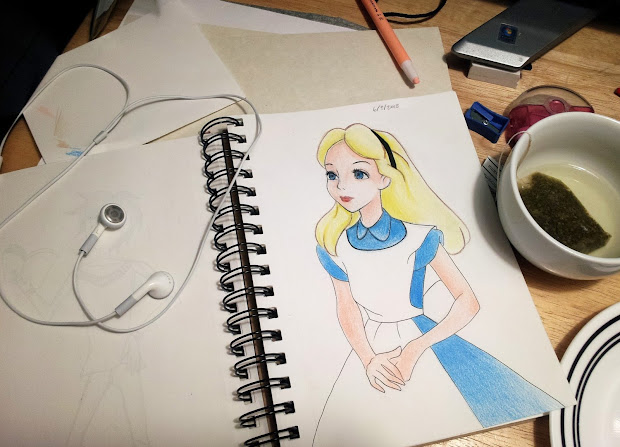 Cool Disney Character Drawings