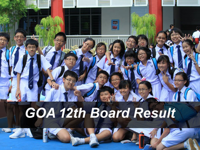 Goa Board 12th Result 2018 GBSHSE HSSC Result Declared Online