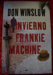 Portada del libro El invierno de Frankie Machine, de Don Winslow