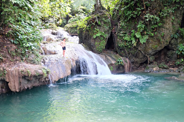 Kibucay Falls in Brgy. Kibleg, Upi