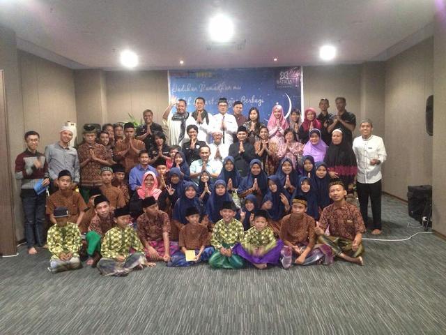 BATIQA Hotel Palembang Sempurnakan Ramadhan dengan Berbagi dengan Panti Asuhan