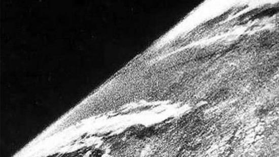 Primera foto desde el espacio