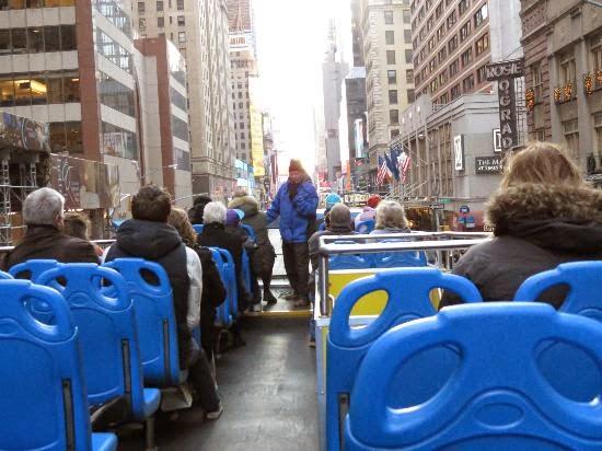 Passeio de ônibus turístico em Nova York