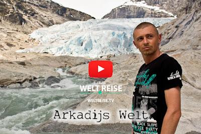 Nigardsbreen, Jostedalsbreen, Norwegen Musikvideo von Arkadij Schell, Musiker und Produzent aus Bremerhaven