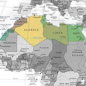 Cartina Fisica Africa Mediterranea.Ripasso Facile Riassunto Africa Settentrionale